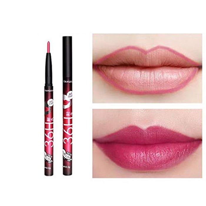 Kisshes Lipstick Pen Lip Liner Waterproof Long Lasting Matte