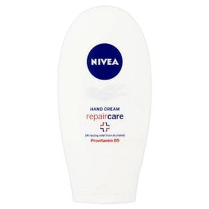 NIVEA Hand Cream Repair Care Hand Cream 75ml+ FREEBIE Vitamin E Gift Bag