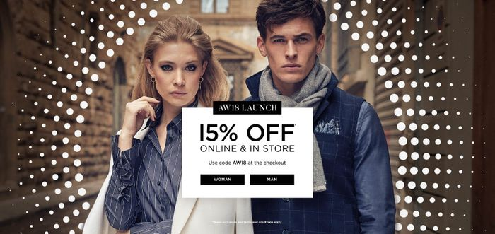 15% off New Season Items at Jules B