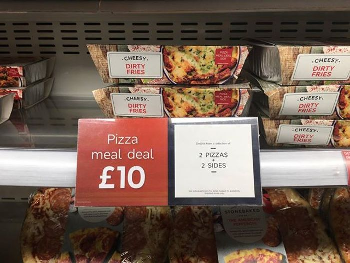 Ms 10 Pizza Meal Deal 2 Pizzas 2 Sides At Marks