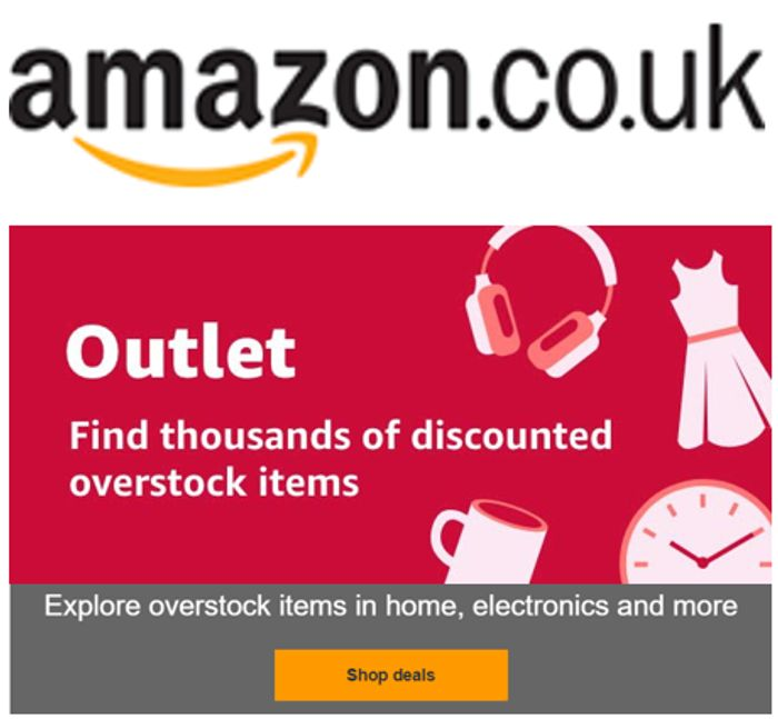 Do you know about AMAZON OUTLET? Amazon's Largest Online Sale Selection!