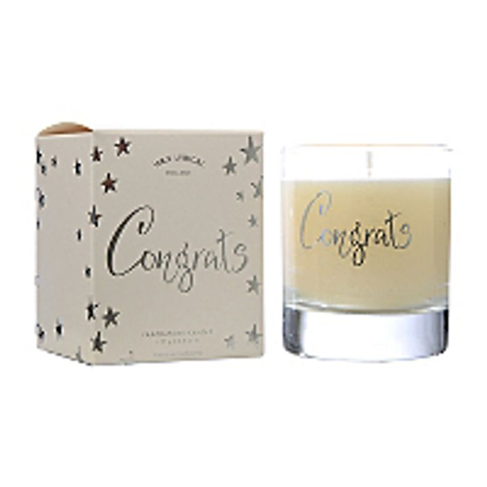 Wax Lyrical Congratulations Gift Candle 20cl