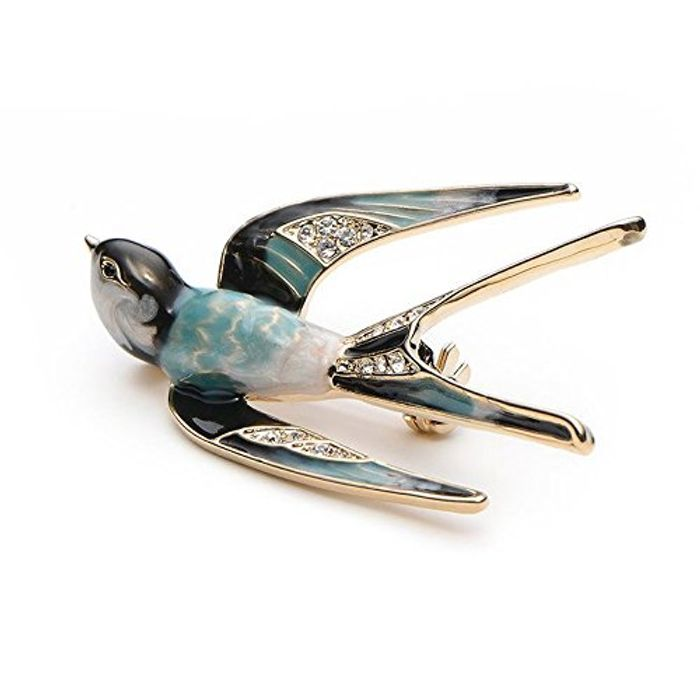 Swallow Brooch FREE DELIVERY