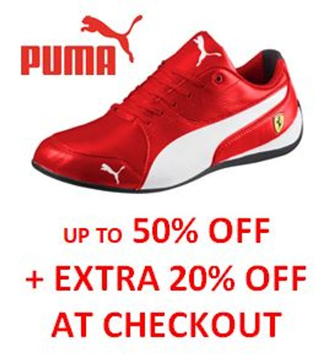 PUMA Trainers SALE - 50% off + EXTRA 20% off at CHECKOUT