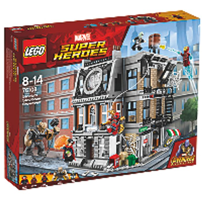 LEGO Marvel Super Heroes 76108 the Battle in the Sanctum Sanctorum