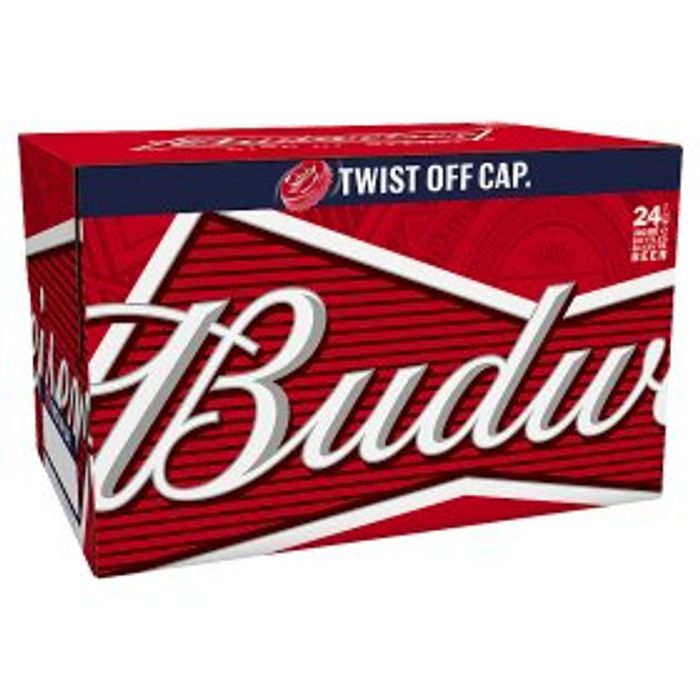 Budweiser Twist Top 24 Pack