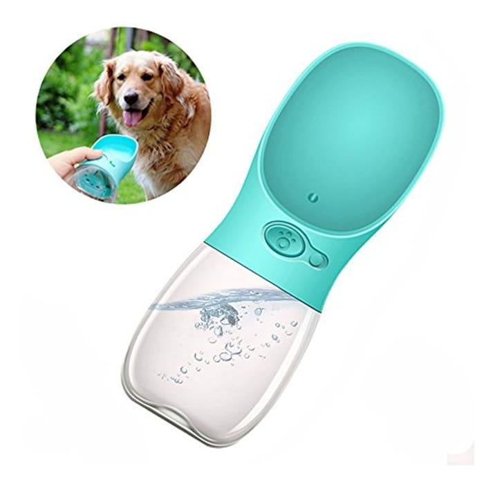 50% off Pet Water Bottle, Hebey Dog Water Bottle Cat Water Bottle