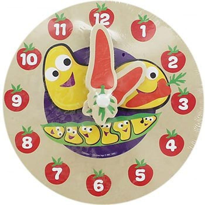 CBeebies My First Wooden Clock