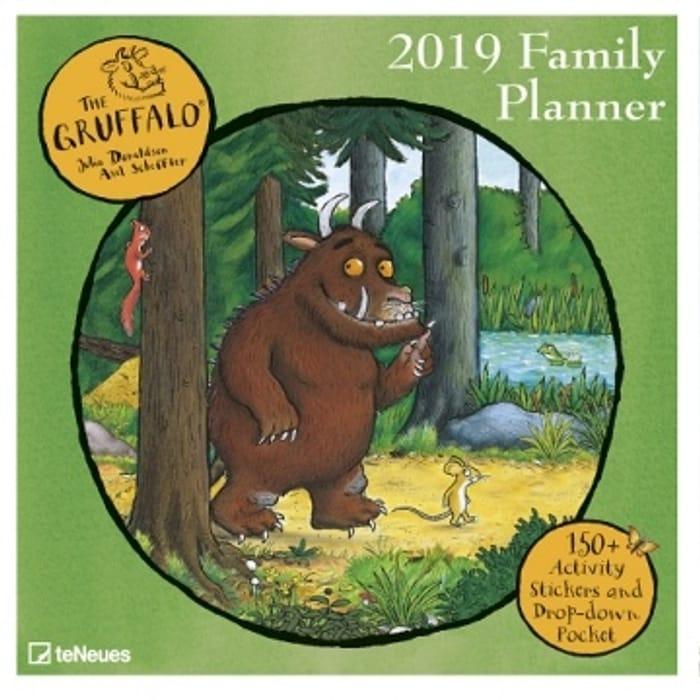 Gruffalo Family Planner Calendar 2019 Only £4.99