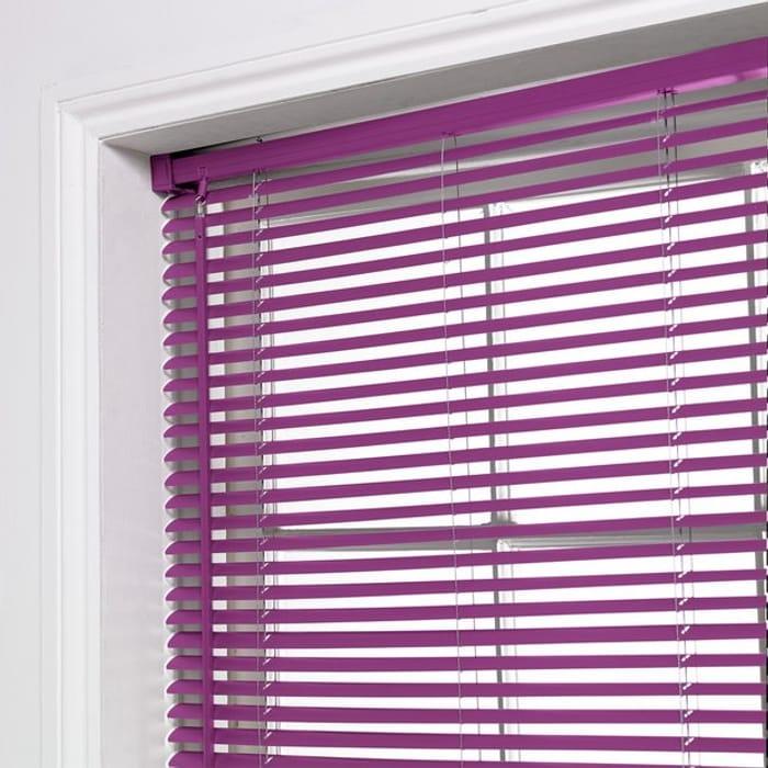 ColourMatch PVC Venetian Blind - 3ft - Grape
