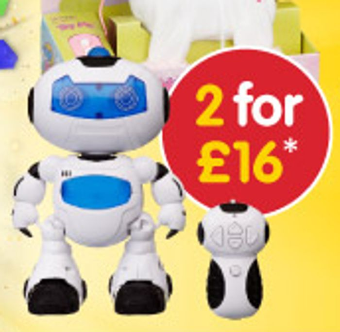 B&M Toy Event - 2 for £16 Sale