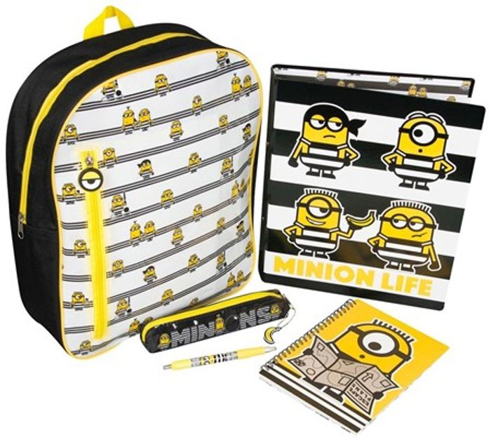 Despicable Me 3 Filled Backpack Set