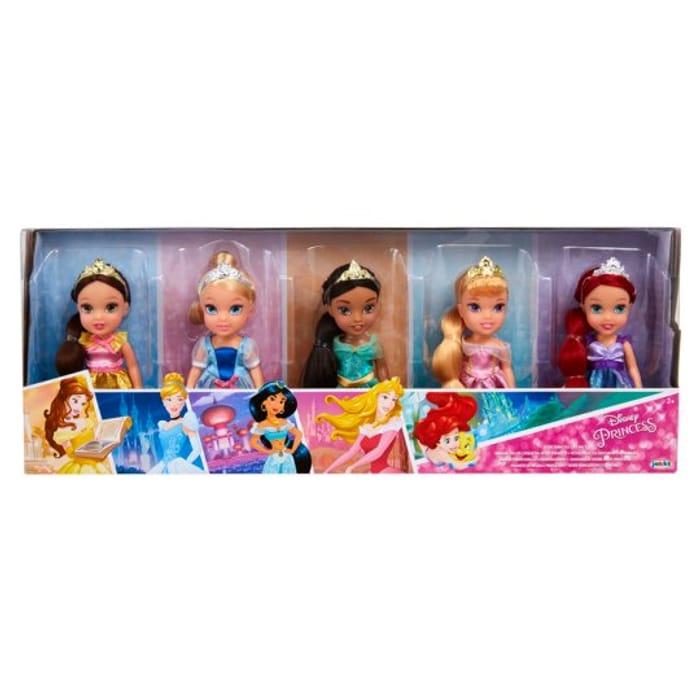 Half Price Disney Princess Petite Princess 5 Pack