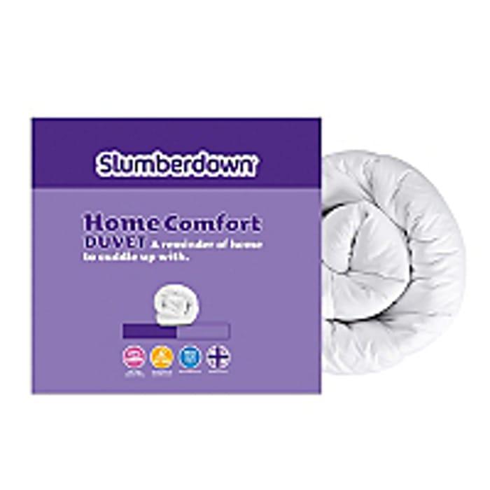 HALF PRICE KING SIZE Slumberdown Home Comfort Duvet - 10.5 Tog NOW £6.50