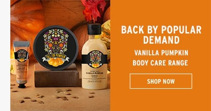The Body Shop £20 OFF online & in-store