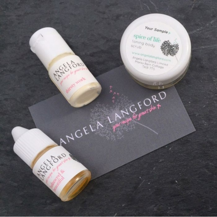 Skincare Sample Pack Try before You Buy! FREE Samples (£12 RRP)