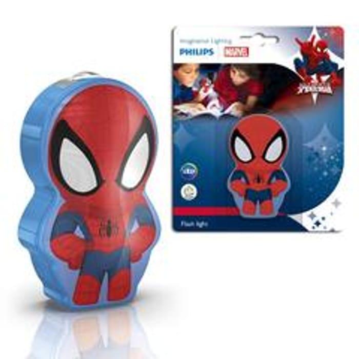 Philips Spiderman Figure Flash Light Torch