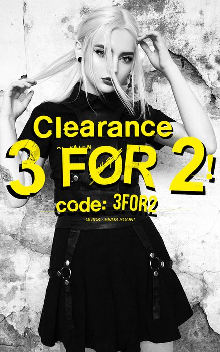 3 for 2 on SALE Items!