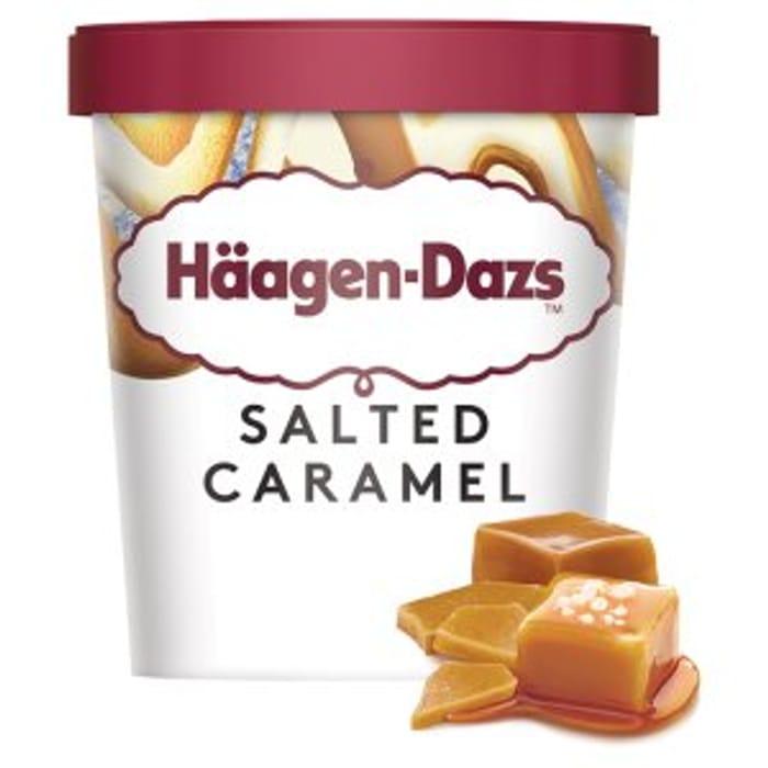 Häagen-Dazs Salted Caramel Ice Cream 460ml