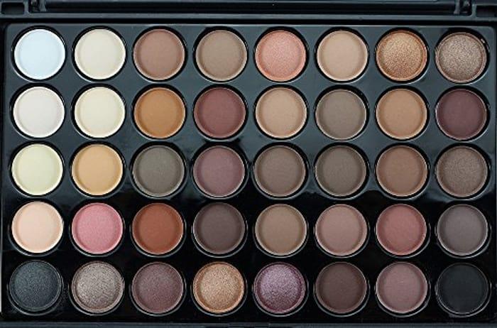 Flyclore 40 Colors Matte Eyeshadow + Brush Set Palette Makeup EyeShadow Cream