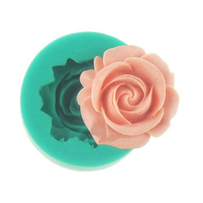 Rose Sugar Cake Chocolate Jelly Pudding Cake Baking Decorating Model DIY Tool
