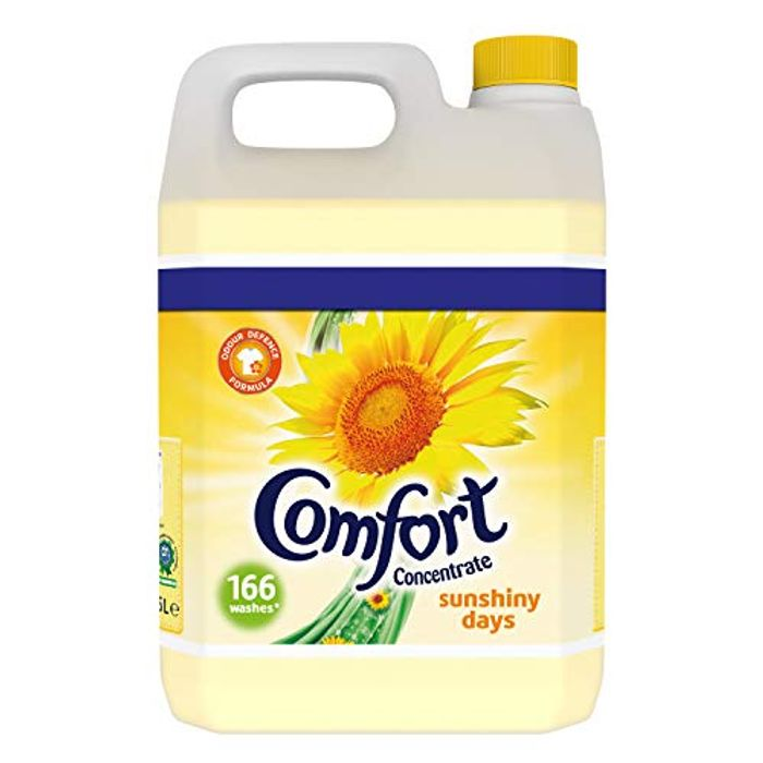 Comfort Sunshiny Days Fabric Conditioner, 5 Litre, 166 Wash