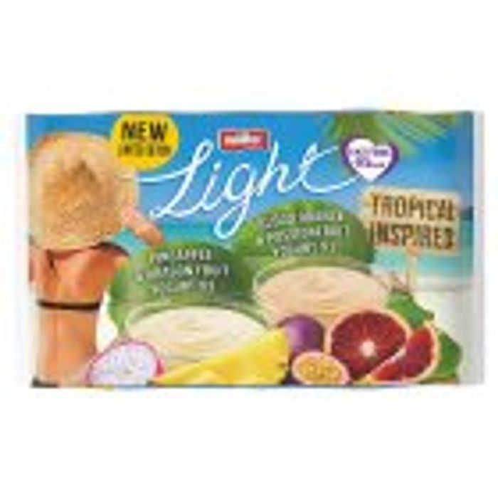 Muller Light Tropical Inspired Mixed Yogurts, Limited Edition 6x165g