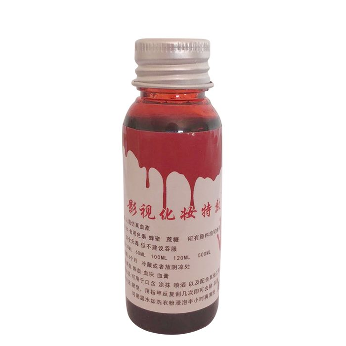 95% off for 30ml Fake Blood Bleeding Halloween Decoration