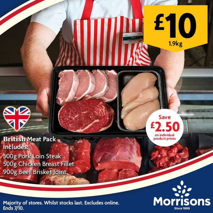 Morrisons Meat Pack for £10