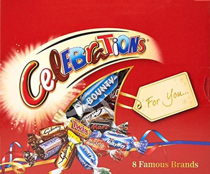 Celebrations Chocolate Gift Pack, 320g