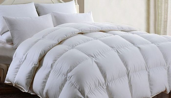 Super Bargain! 13.5 Tog Duck or Goose Feather & down Duvet from £20!