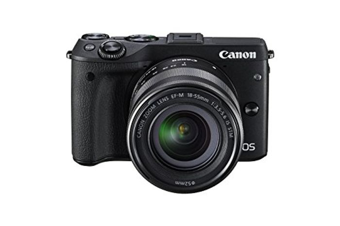 Canon EOS M3 Compact Camera + EF-M 18-55 Mm f/3.5-5.6 STM Lens. *4.8 STARS*
