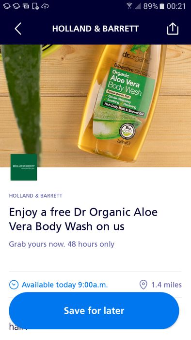 02 Priority App Free Bodywash
