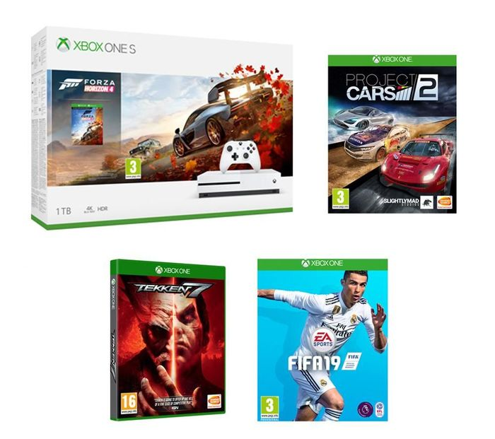 MICROSOFT Xbox One S Only £229.99