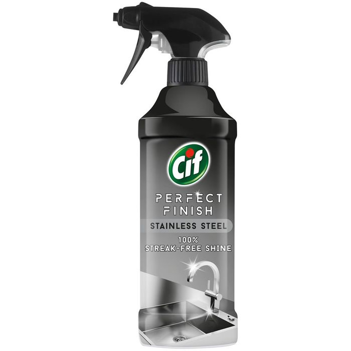 CIF Perfect Finish Stainless Steel Spray 435ml