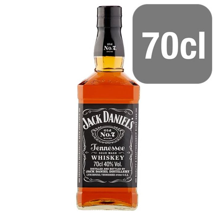 £10 off Jack Daniel's Tennessee Whiskey 70Cl