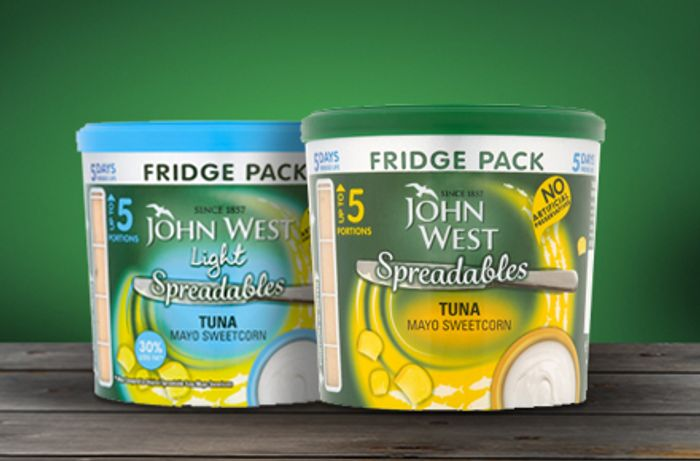£1 off Spreadables Fridge Pack