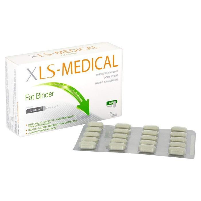 Xls Medical Fat Binder Tablets Weight Loss Aid 10 Day Trial Pack
