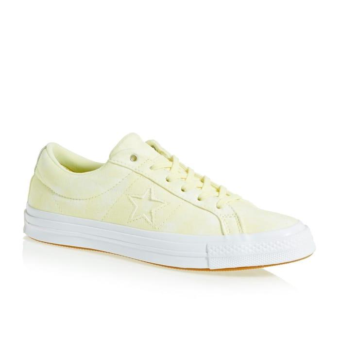 Converse One Star Ox Shoes Vapor Lemon