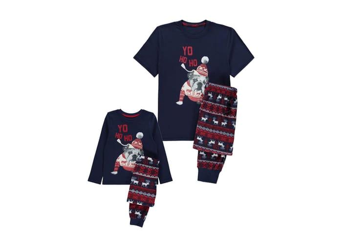 Father and Son Christmas Pyjamas