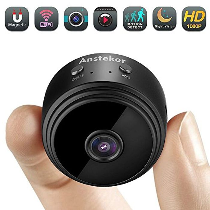 WiFi Hidden Camera with Motion Detection Night Vision Indoor Security Cameras