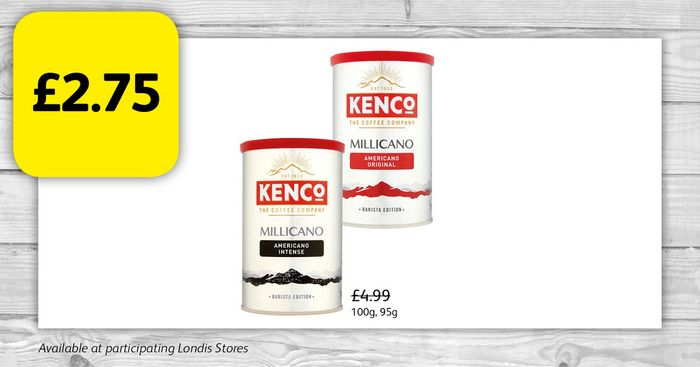 KencoCup Coffee for £2.75