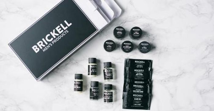 Men's Natural Product and Grooming Kit Sample