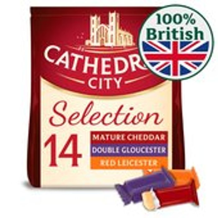 Cathedral City Selection Variety Cheeses 168g