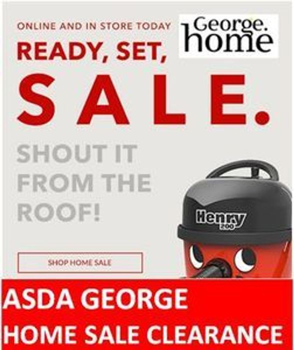 GEORGE HOME CLEARANCE - up to 50% off HOMEWARES
