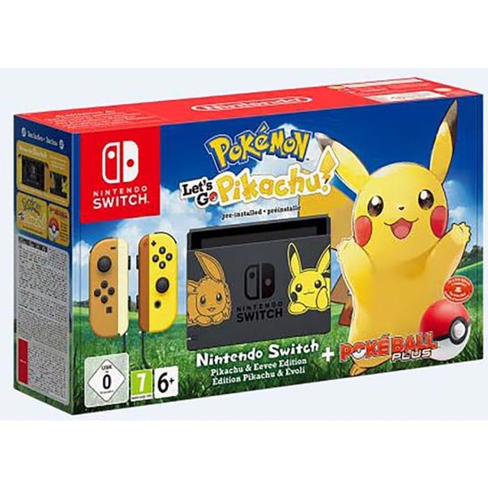 Nintendo Switch Pokémon Let's Go Pikachu! / Eevee Limited Edition £319 w/code@AO