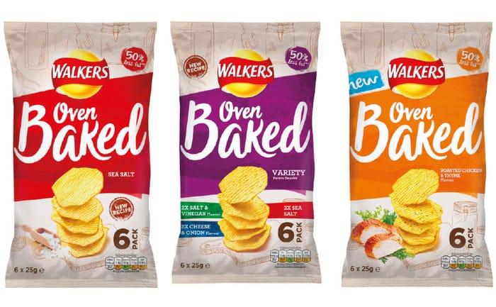 Free 6 Pack of Walkers Baked Crisps