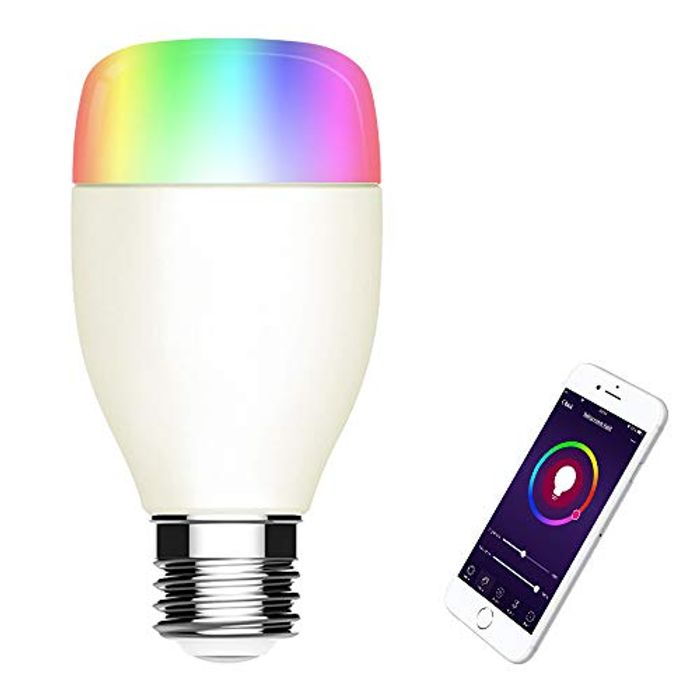 WiFi Smart LED Light Bulb, Multicolored LED Bulbs