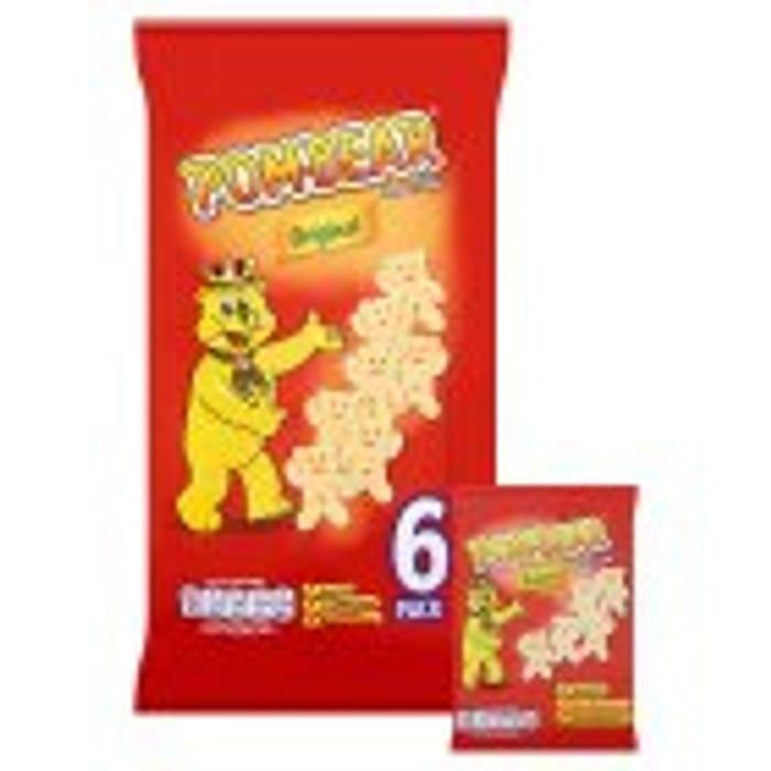 Pom-Bear Original Potato Snack 6x15g