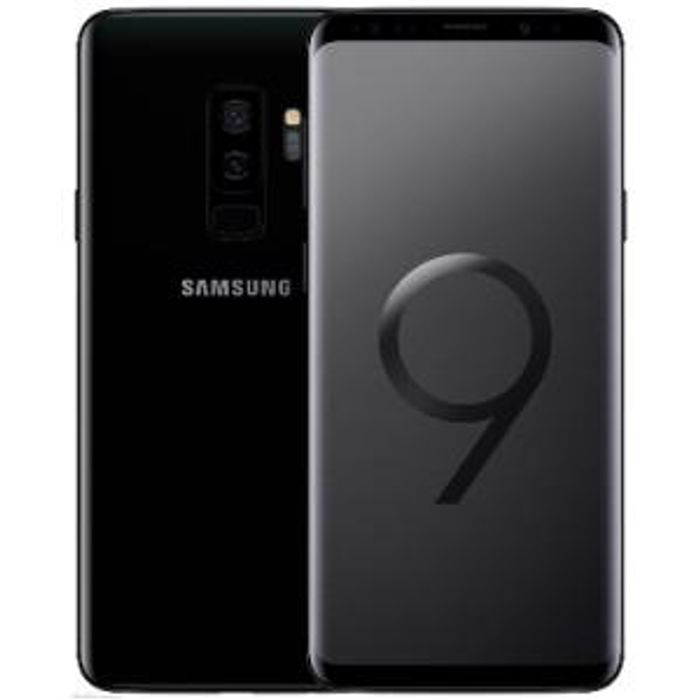 Samsung Galaxy S9 plus G965FD Dual Sim 4G 128GB - Midnight Black